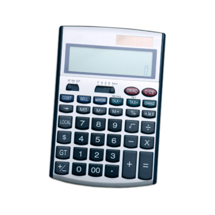 A calculator: Use our needs calculator to find out how much life insurance is right for you